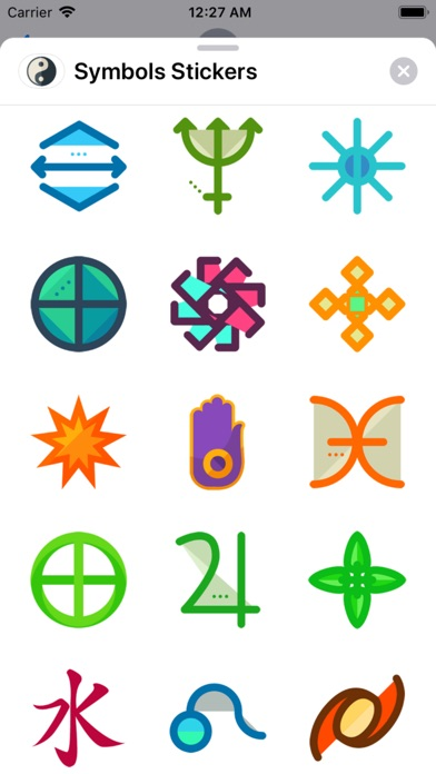 Symbols Stickers Screenshot 3