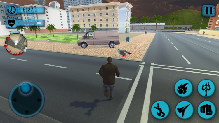 Superhero Crime Fighter screenshot-7
