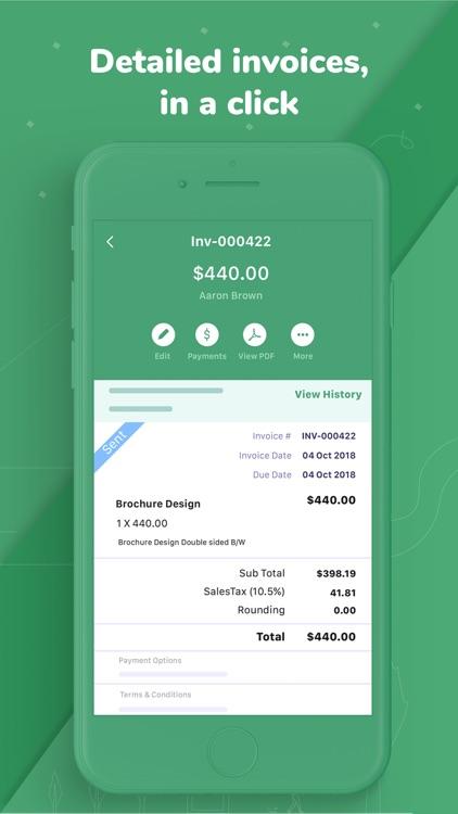 Accounting app - Zoho Books screenshot-0