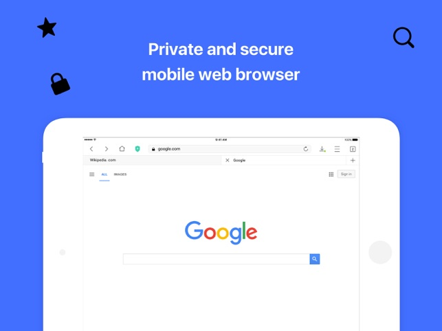 Aloha Browser - private & fast Screenshot