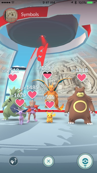 Pokémon GO screenshot1