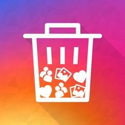 Clean for instagram™ Unfollow