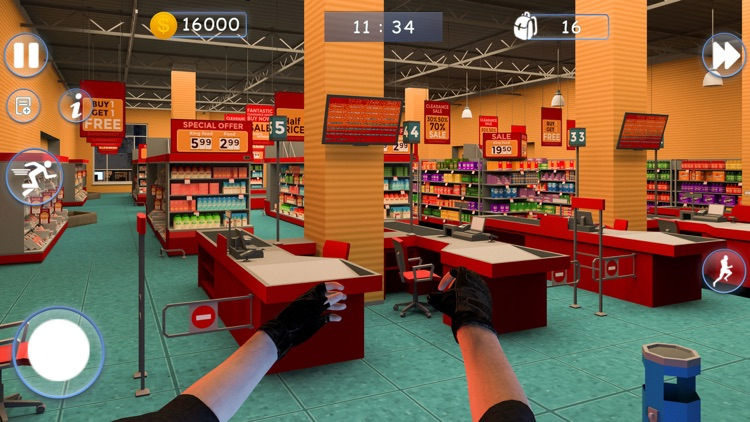 Pro Thief Simulator Robbery 3D screenshot-4