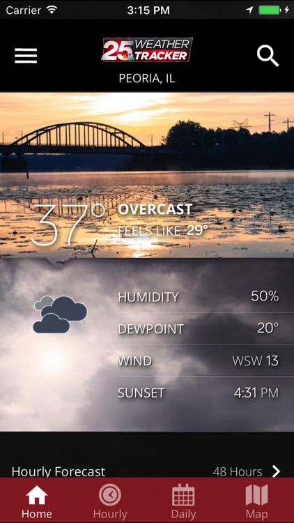 WEEK 25 Weather Tracker app screenshot-0