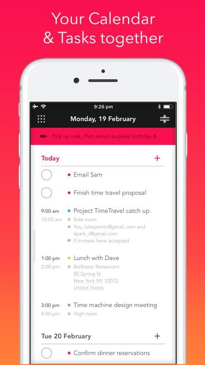 Rooster: Calendar screenshot-0