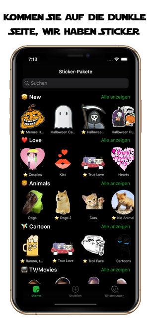 ‎Spitzen Stickern Sticker Maker Screenshot