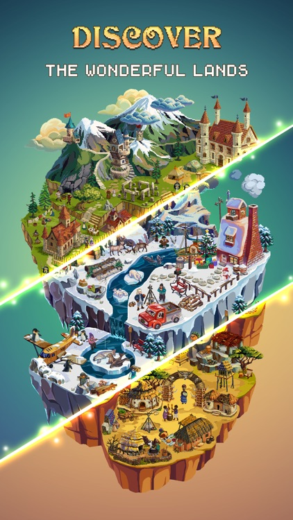 Color Island: Pixel Art Puzzle screenshot-0