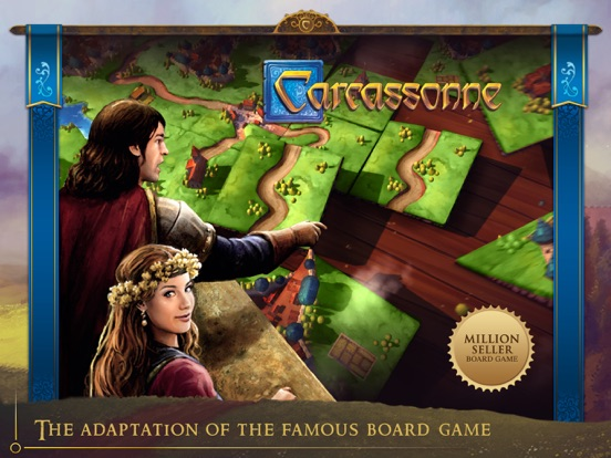 Carcassonne – Tiles & Tacticsのおすすめ画像1