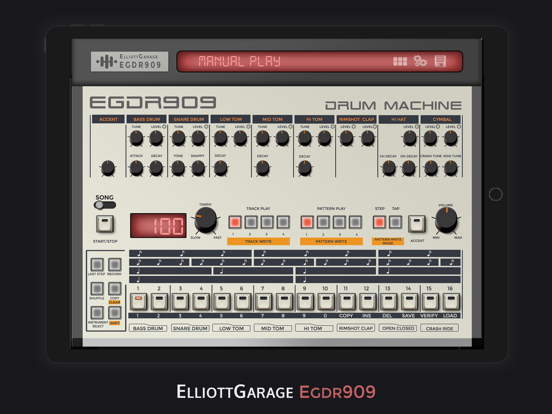 EGDR909 Drum Machine Lite