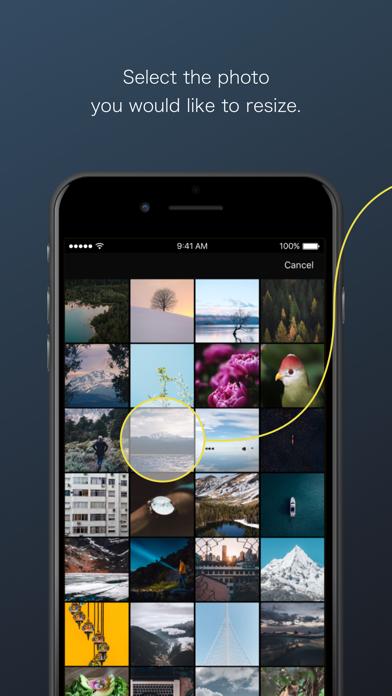 ReSIZER - Simple Photo Resizer screenshot one