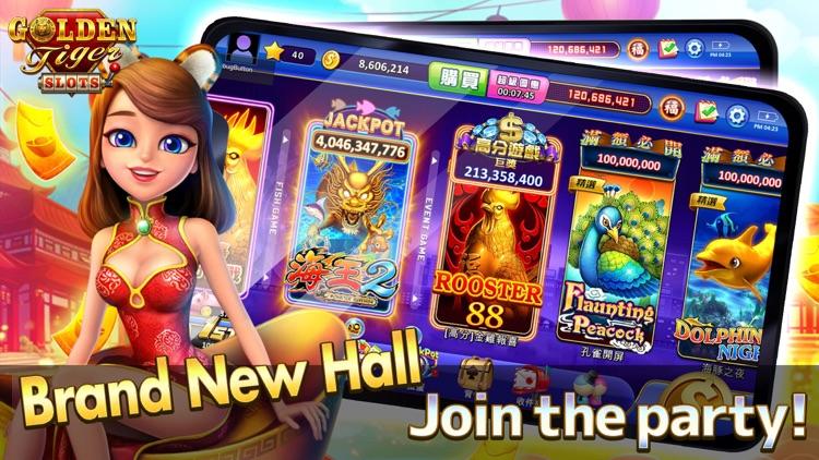 Golden Tiger Slots - Slot Game screenshot-0