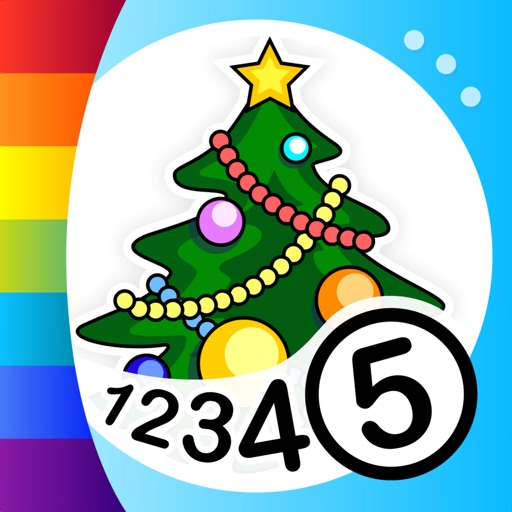 Color by Numbers - Christmas iOS App