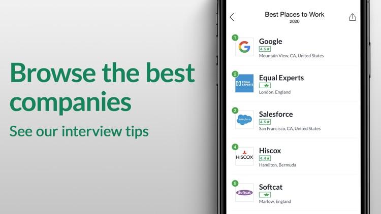 Glassdoor - Job Search & more screenshot-3