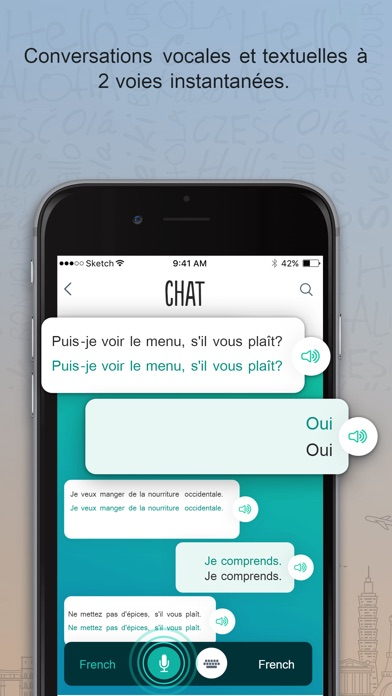 Screenshot for French Trocal - Travel Phrases in Lebanon App Store