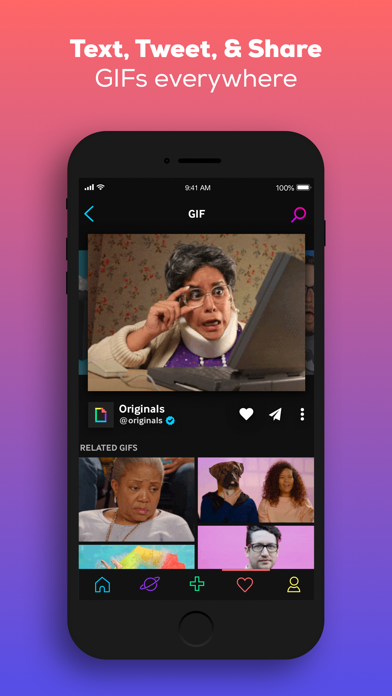 GIPHY: The GIF Search Engine app image