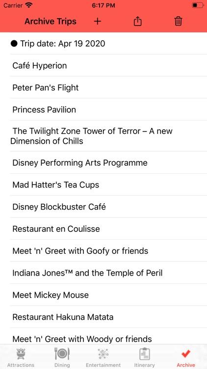 Theme Park Checklist: Paris screenshot-4