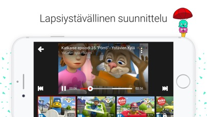 Screenshot for YouTube Kids in Finland App Store