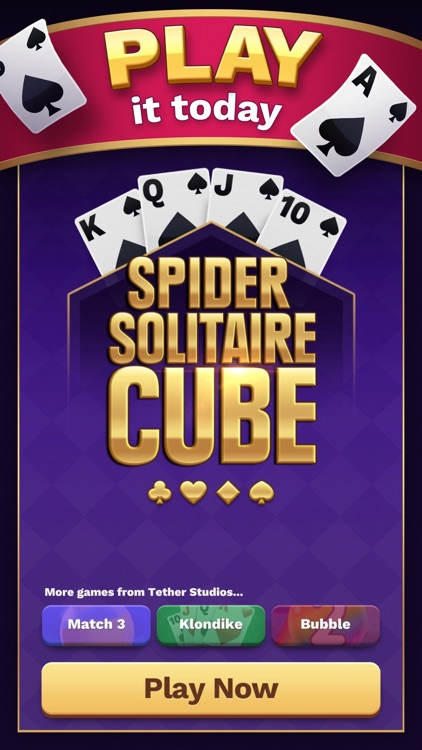 Spider Solitaire Cube screenshot-0