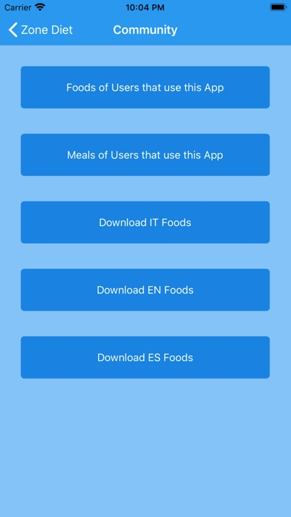 Zone Diet Simple screenshot-7