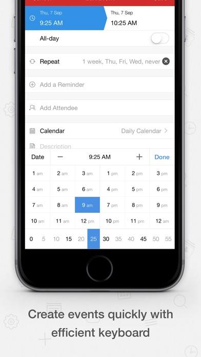 Screenshot #9 for Tiny Calendar Pro