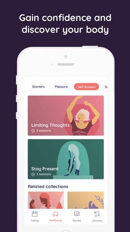 Emjoy - Stories & Wellness screenshot-3