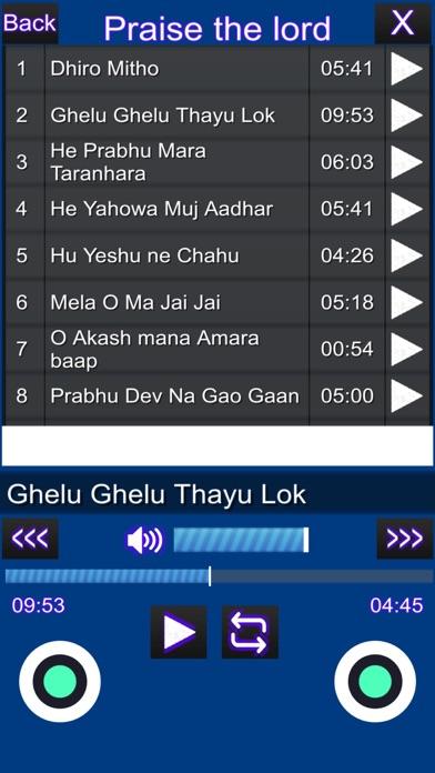 Prayer & Worship Songs screenshot 4