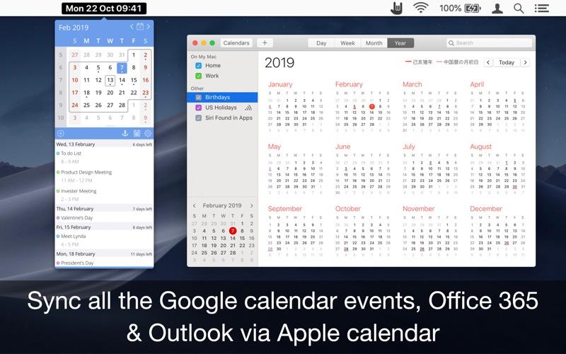 EzyCal: 简单的日历和时间 Calendar