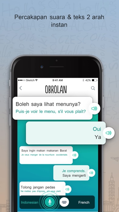 Screenshot for Perancis Trocal in Indonesia App Store