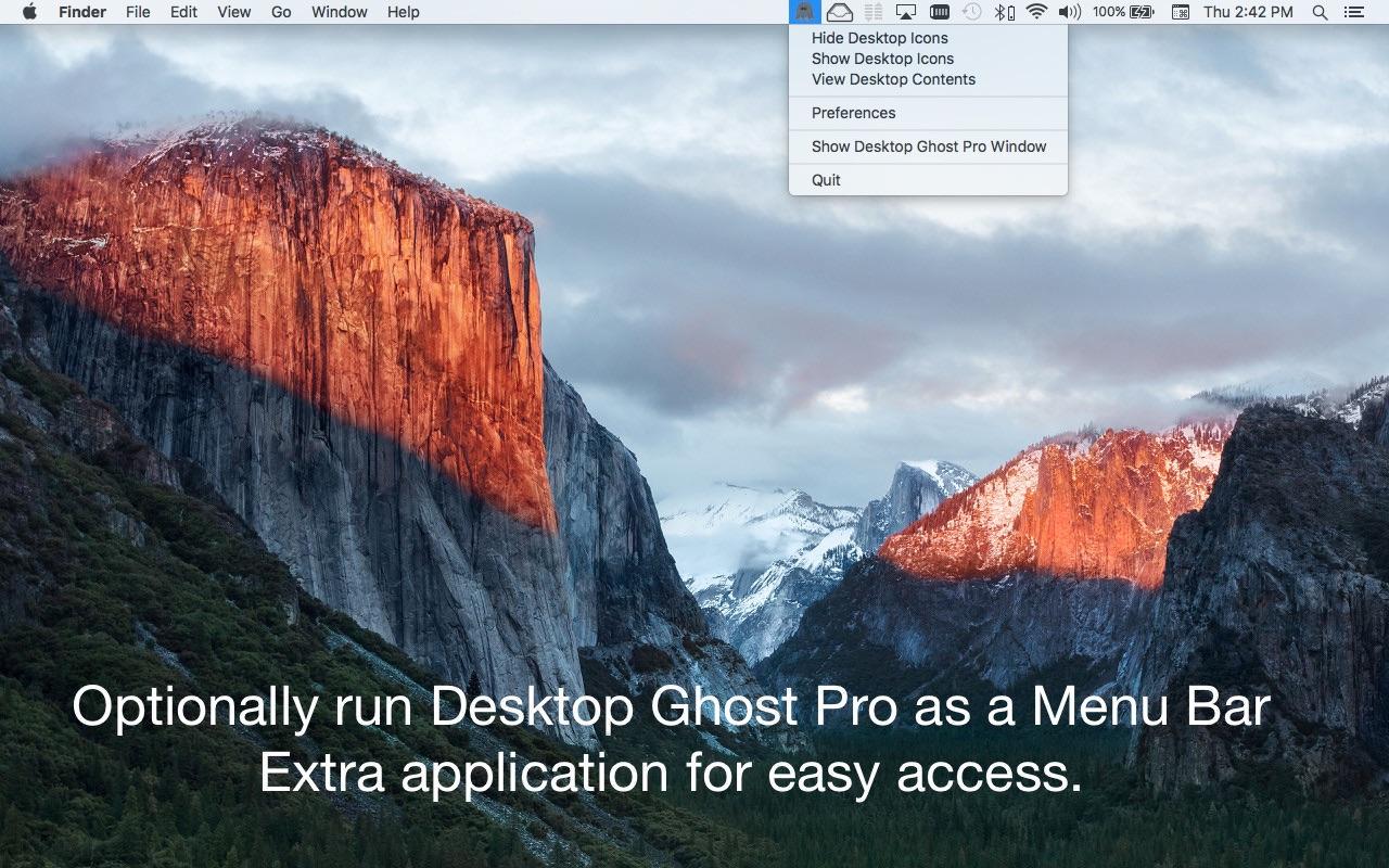 Screenshot do app Desktop Ghost Pro