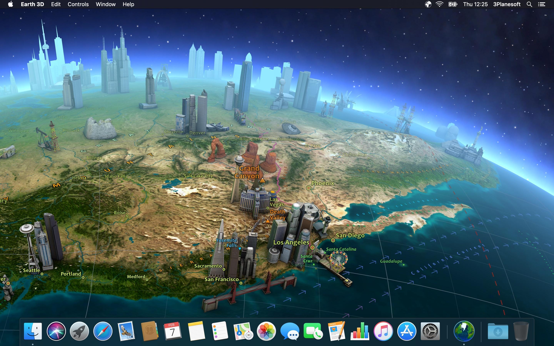 Screenshot do app Earth 3D