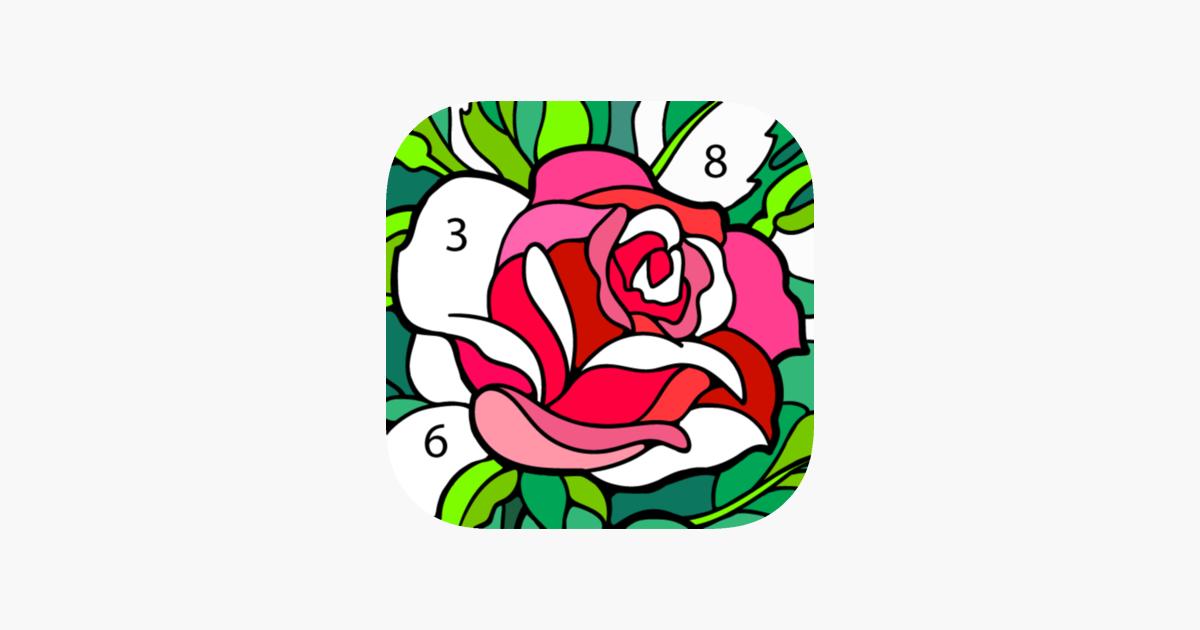 Happy Color Boyama Oyunu App Storeda