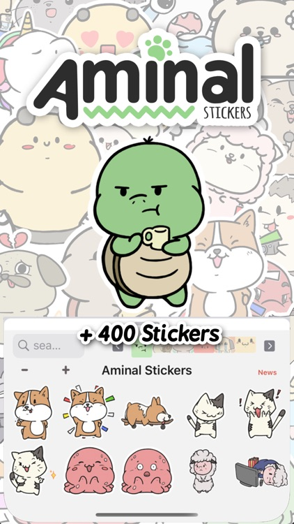 Aminal Stickers