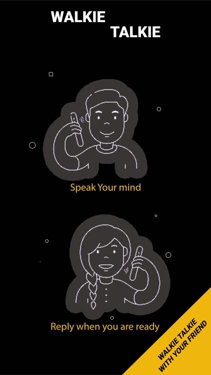 Walkie Talkie Communication screenshot-3