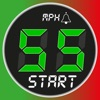 Speedometer 55 GPS Speed & HUD iphone and android app