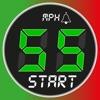 スピードメーター 55 Start。GPS 速度計+HUD - iPhoneアプリ