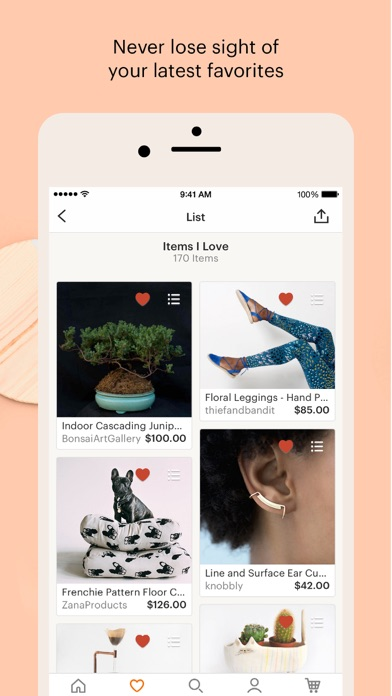 Screenshot for Etsy – Shop Creative in United States App Store
