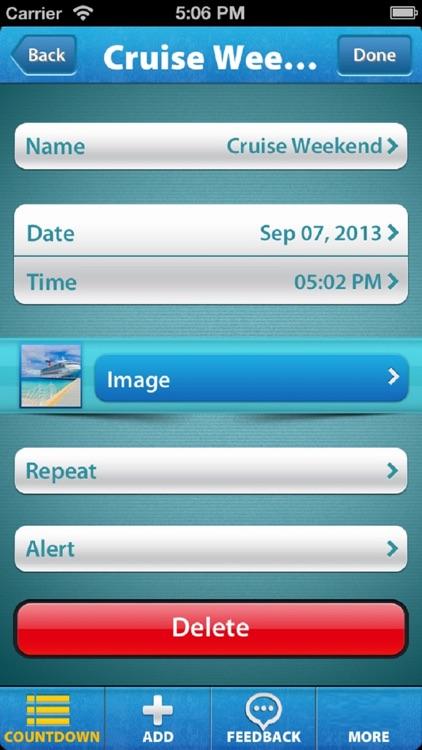 Holiday & Vacation Countdown! screenshot-3