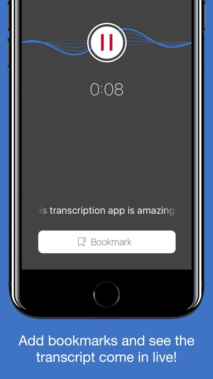Steno: live transcription screenshot-0