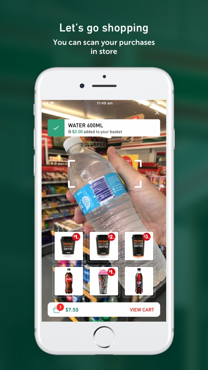 7-Eleven Mobile Checkout screenshot-1