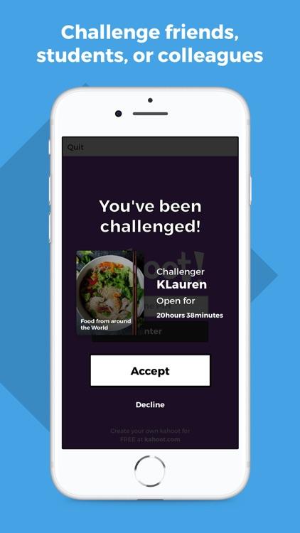 Kahoot! Play & Create Quizzes screenshot-5