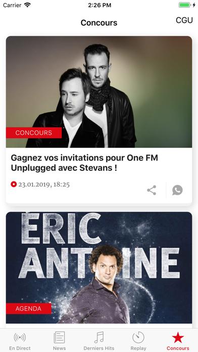 点击获取One FM