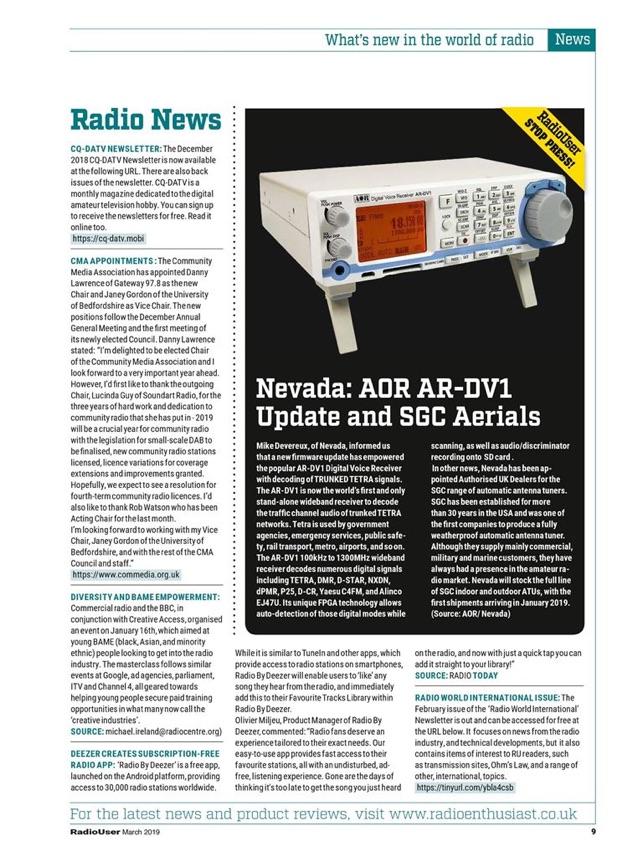 Radio User Magazine on the App Store