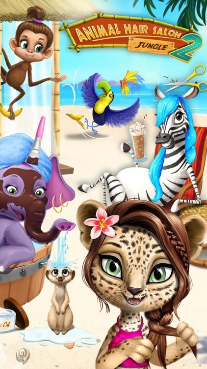 Jungle Animal Hair Salon 2