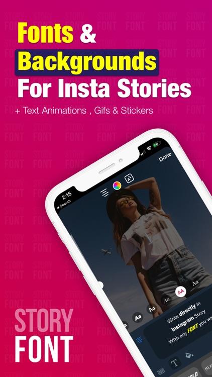 StoryFont: for Instagram Story screenshot-0