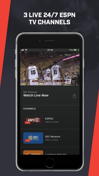 ESPN Player screenshot 6