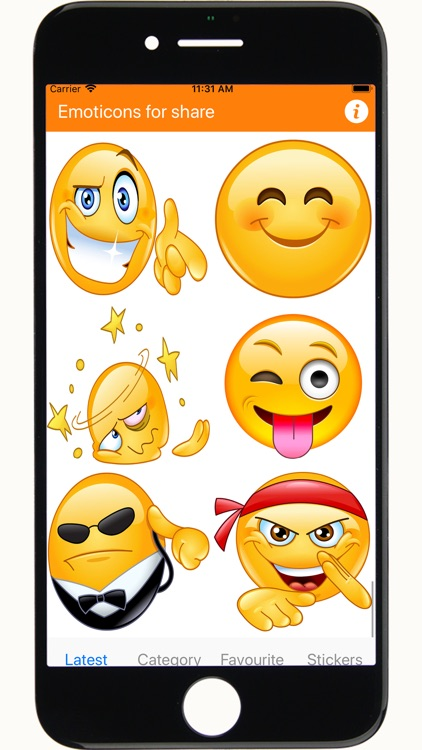 Emoji emoticons for chat screenshot-3