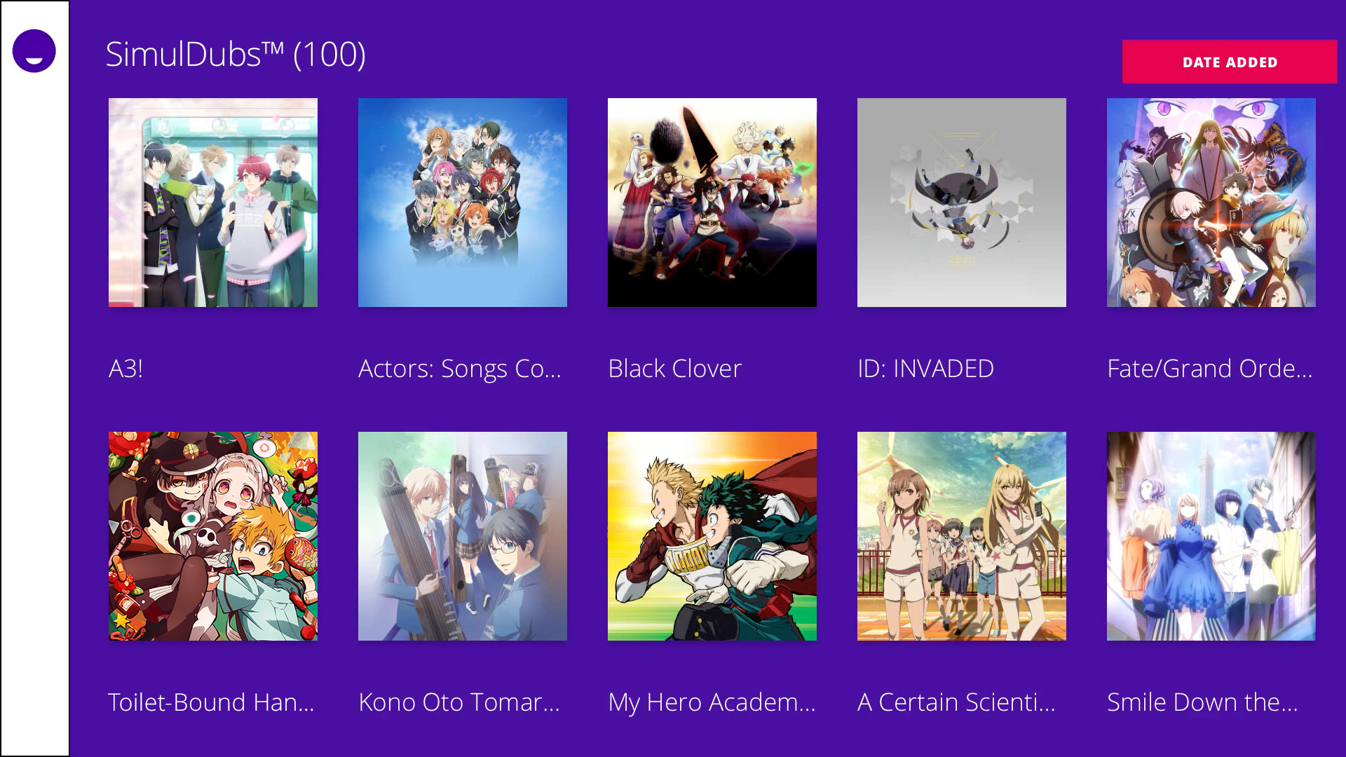 Funimation screenshot 16