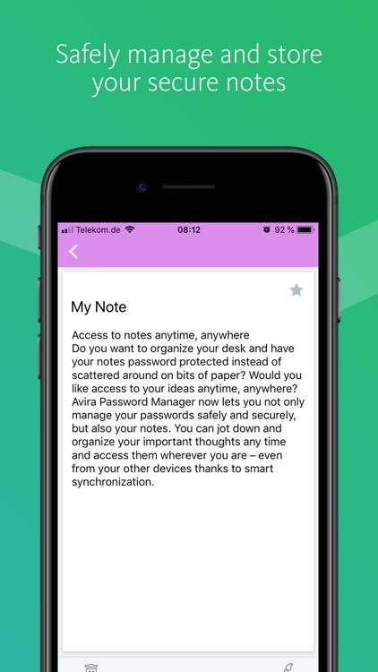 Avira Password Manager screenshot-4