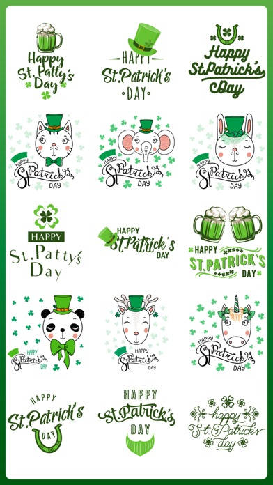 Screenshot for St Patrick's Day Irish Party in United States App Store