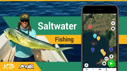 Screenshot for Fishing App: ANGLR Logbook in United States App Store